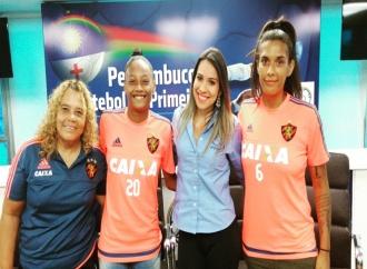 FPF entrevista jogadoras do Sport