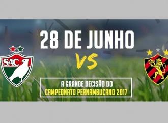 Garanta seu ingresso para a final do Pernambucano 2017