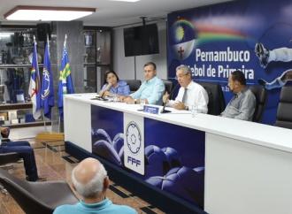 Evandro Carvalho se reúne com clubes do futebol amador