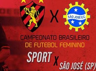 TV FPF transmitirá Sport x São José pelo Brasileiro Feminino