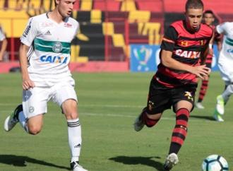 Coritiba vence o Sport pela Copa do Brasil Sub-17