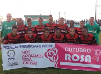 Jogos do Pernambucano Feminino homenageiam Outubro Rosa