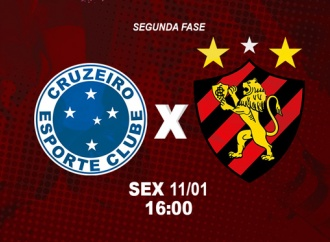Sport enfrenta o Cruzeiro na segunda fase da Copinha