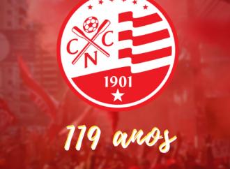 Náutico comemora 119 anos de tradição