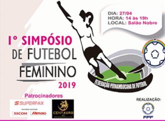 FPF promove 1º Simpósio Pernambucano de Futebol Feminino