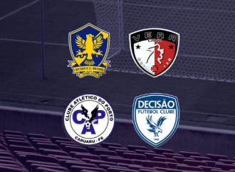 Porto, Retrô, Vera Cruz e Decisão disputam acesso à Série A1/2020