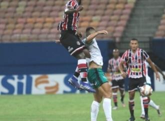Santa Cruz empata por 0x0 e soma um ponto em Manaus