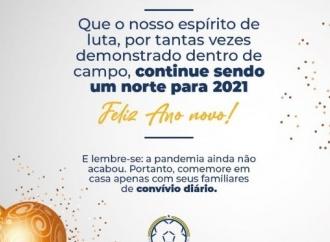 A Federação deseja a todos e a todas um Feliz Ano Novo!