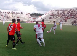 Em jogo de quatro gols, Salgueiro x Serra Talhada empatam